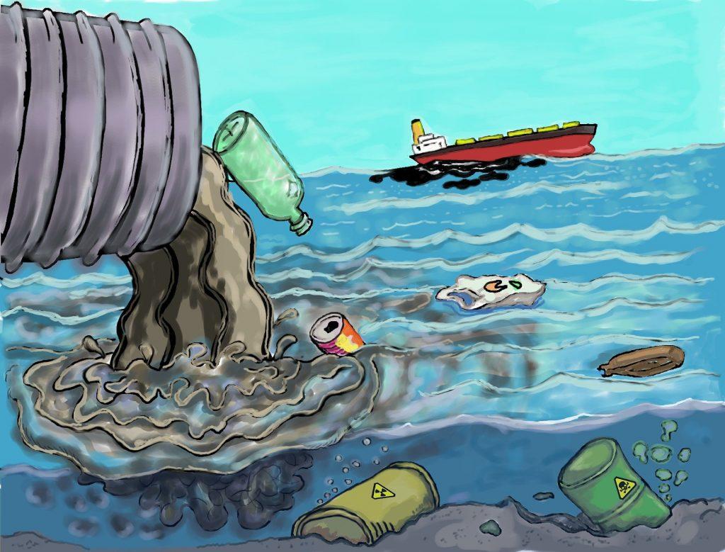 Contaminación basura