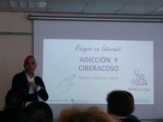 Miguel Angel Alfaro. Adiccion y ciberacoso